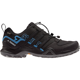 adidas TERREX Swift R2 Gore-Tex Hiking Shoes Waterproof Men, core black/core black/bright blue